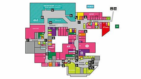 Ruhrpark Bochum Plan